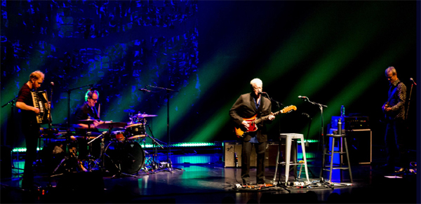 Bruce Cockburn and band - Ottawa, ON - photo DBrian Campbell