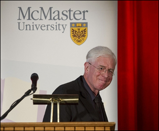 Bruce Cockburn at McMaster Ceremony 7 May 2013 - Photo Scott Gardener