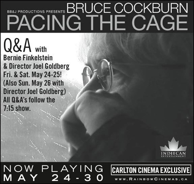 Pacing the Cage Now Playing Poster