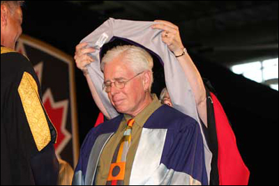 Bruce Cockburn Receives Honorary Degree Doctor of Music