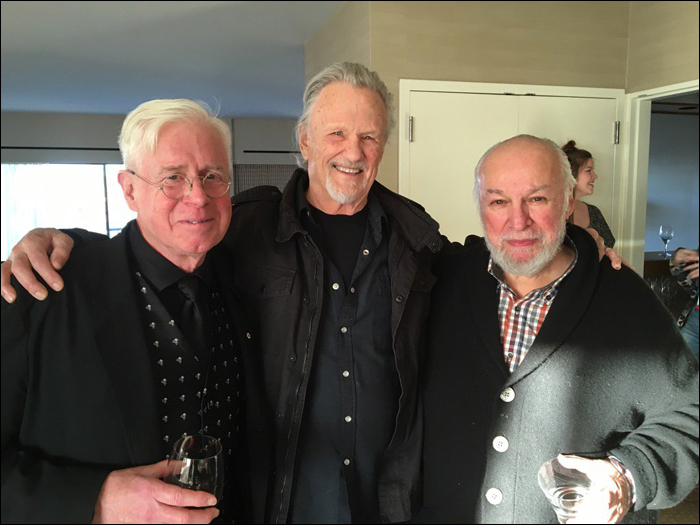 Bruce Cockburn - Kris Kristofferson - Bernie Finkelstein - AFI People's Voice Award 2017